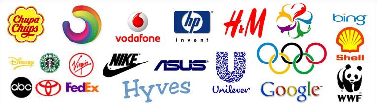 Een logo maken kan op een hele klassieke manier...
