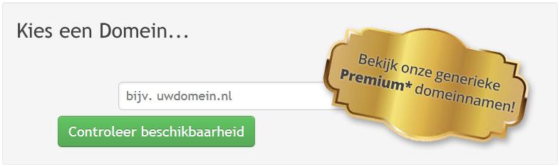 Eigen domeinnaam registreren voor je eigen website...