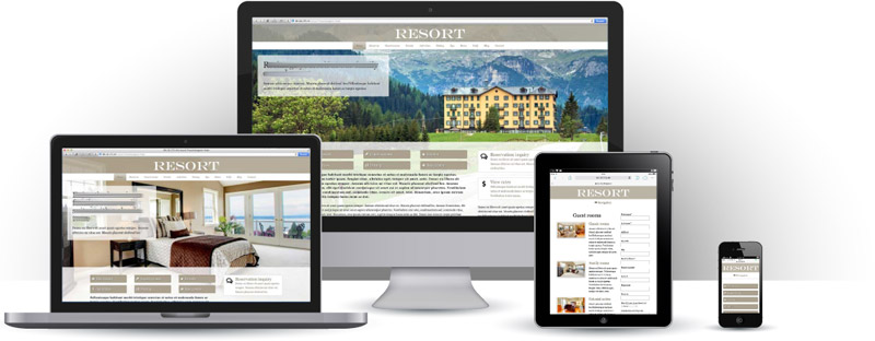 Vakantiehuis website maken