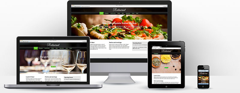 Restaurant website maken