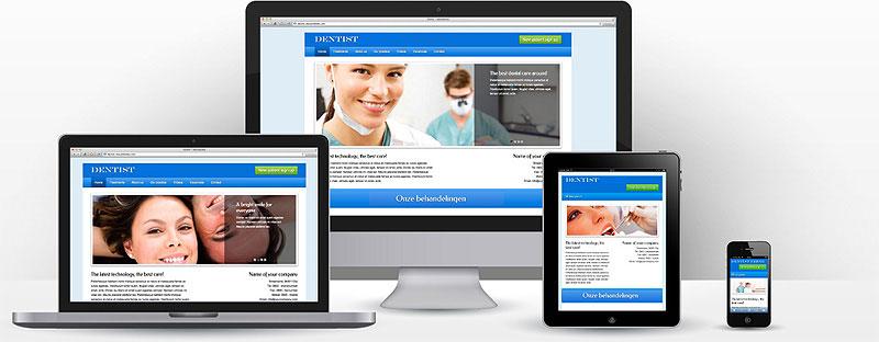 Tandarts website maken