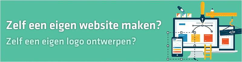 Zelf maken van een eigen website
