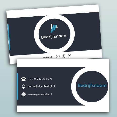 visitekaartje template 2 product designer eigenwebsite nl