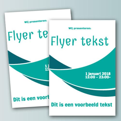 Flyer Template 1 Product Designer Eigenwebsite Nl